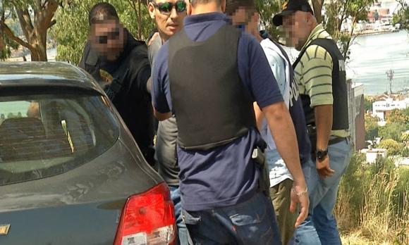 """El """"Betito"""" Suárez fue detenido en el Cerro de Montevideo. Foto: Subrayado Canal 10"""