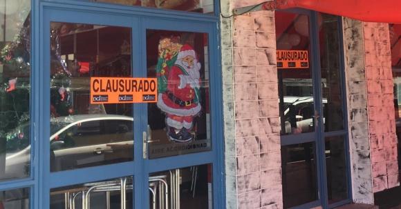 Cartel: se puede ver en decenas de comercios de Maldonado. Foto: DGI
