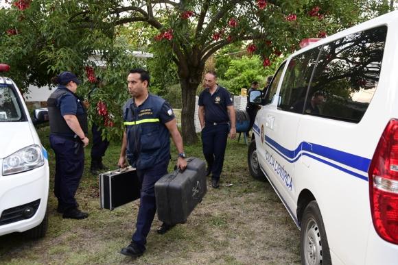Los peritos forenses y los investigadores de Policía Científica fueron claves. Foto: M. Bonjour