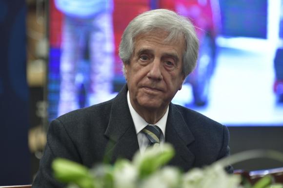 Vázquez castigó a la oposición tachándola de retrógrada. Foto: Fernando Ponzetto