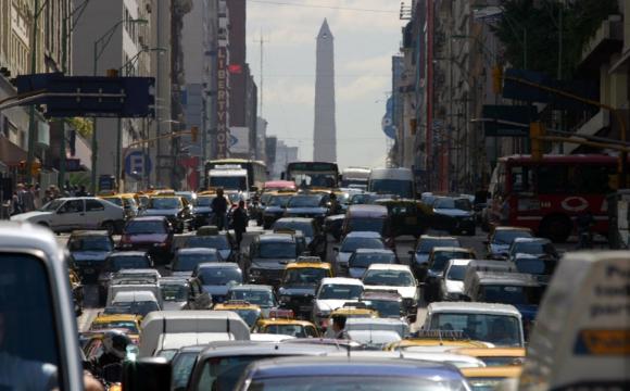 Avenida Corrientes. Foto: La Nación / GDA