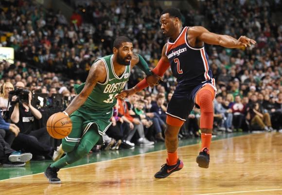 Washington Wizards venció a los Boston Celtics. Foto: AFP.