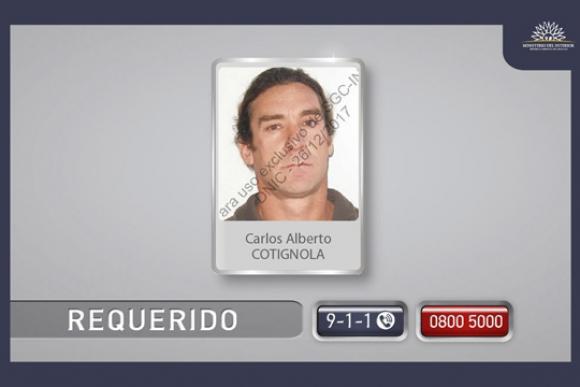 Carlos Alberto Cotignola. Foto: Ministerio del Interior