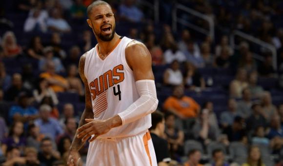 Tayson Chandler, el héroe de Phoenix Suns. Foto: AFP.