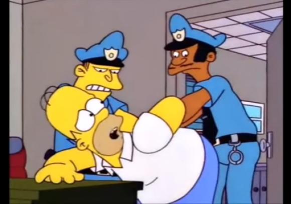Homero Simpson. Foto: Captura