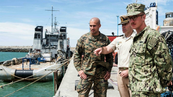 EE.UU. retira su principal ayuda para la búsqueda del submarino. Foto: Archivo La Nación (GDA)