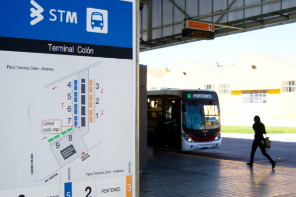 El lunes 1° de enero no habrá servicio de transporte público. Foto: IMM