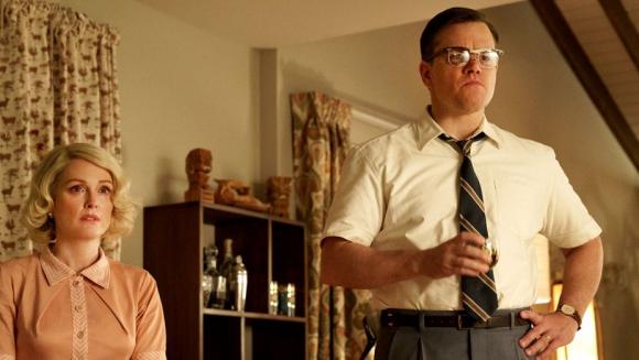 "Julianne Moore y Matt Damon en ""Suburbicon"""