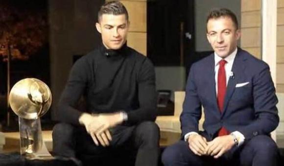 Cristiano Ronaldo no estuvo presente pero lo hizo a la distancia.