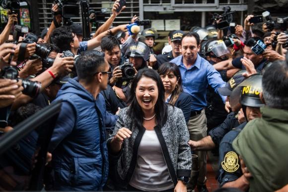 Asesores de Keiko Fujimori son cuestionados por parlamentario Kenji Fujimori