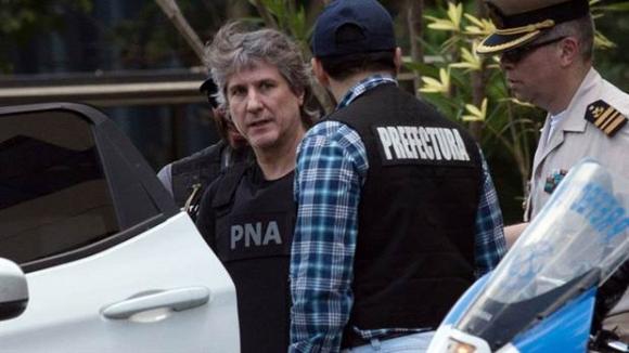 Amado Boudou está detenido en la cárcel de Ezeiza. Foto: La Nación (GDA)