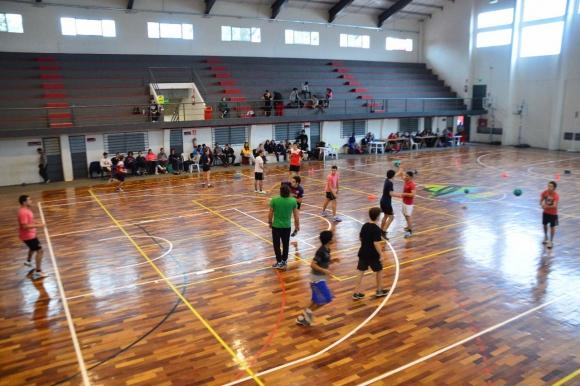 Handball en Tacuarembó. Foto: FUH.
