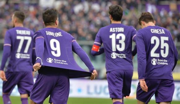 Camiseta Fiorentina GIOVANNI SIMEONE