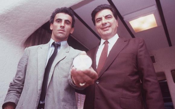 Antonio Alzamendi en la entrega del premio de Mejor Jugador de América. Foto: Archivo El País
