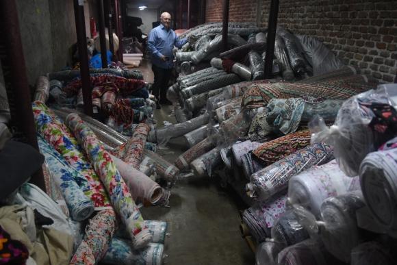 Jorge Levinson, dueño de Vitamor, heredó una vieja textil de su padre y enfrentó el cierre y la reconversión. Foto: A. Colmegna