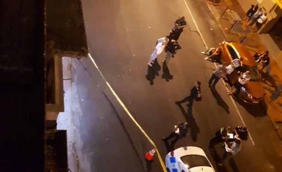 Los asaltantes quisieron robar un supermercado ubicado Mercedes y Gaboto. Foto: El País