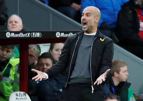 Pep Guardiola. Foto: Reuters
