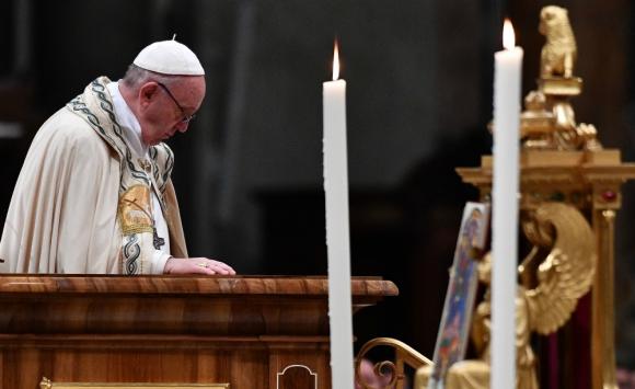 La ceremonia se realizó en la basílica de San Pedro del Vaticano. Foto: AFP