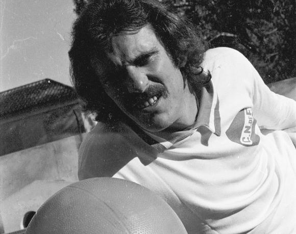 Pablo Forlán. Vistió la camiseta tricolor en 1977. Foto: Archivo El País