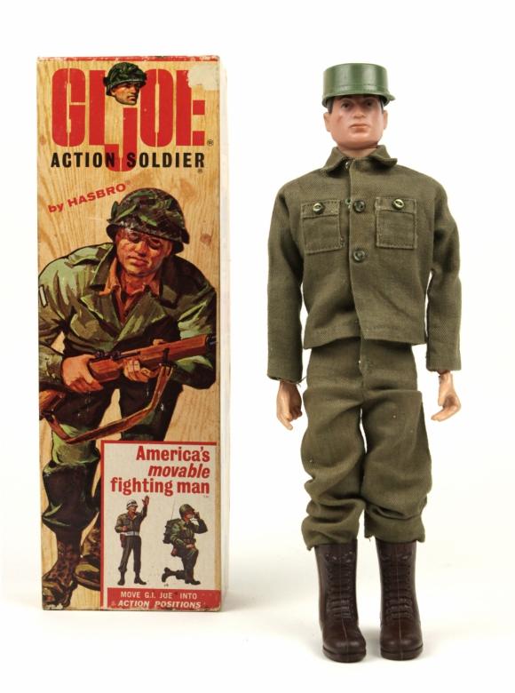 G.I. Joe. El muñeco de acción se volvió popular entre los adultos a fines de la década de los '90.