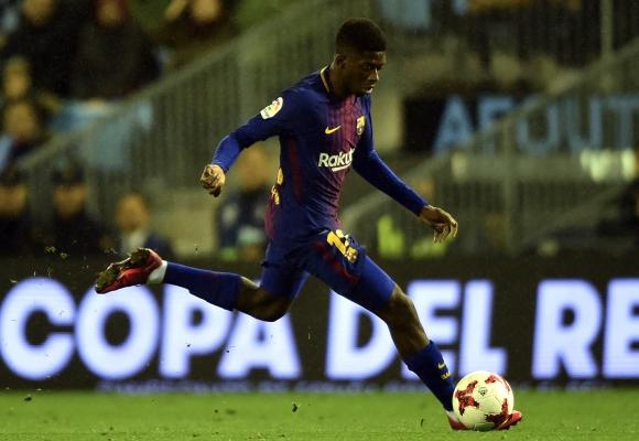 Barcelona confirmó que Dembélé estará otro mes de baja