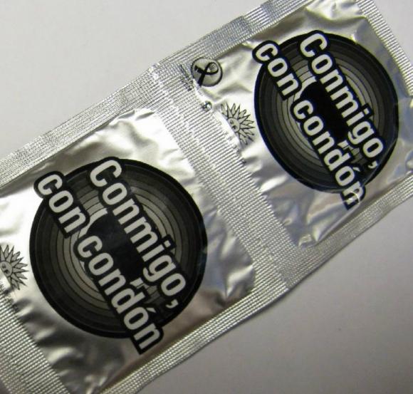 Preservativos que entrega el MSP. Foto: Difusión.