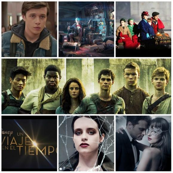 Películas basadas en novelas que llegarán este año al cine. Foto: Difusión