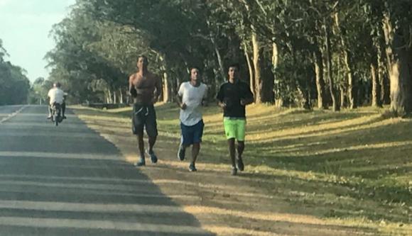 Alejandro Lembo, Chano y Maxi Rodríguez