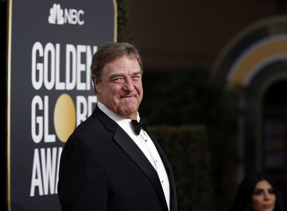 El actor John Goodman llega a la ceremonia. Foto: Reuters