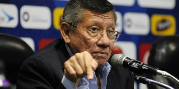 Carlos Villacís, presidente de la Federación Ecuatoriana