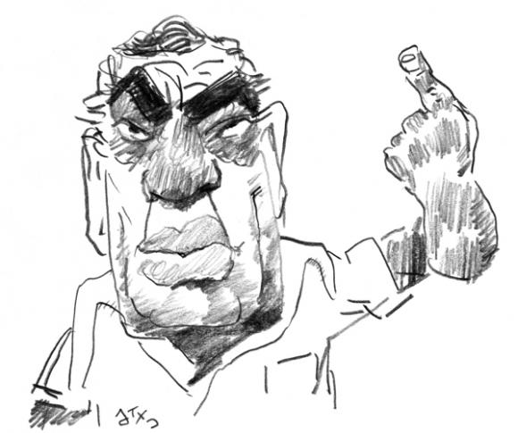 Omar Lafluf por Aroxta.