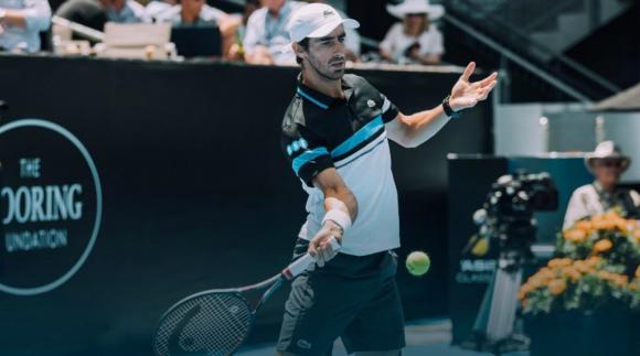 Pablo Cuevas no consiguió ganar su partido número 51 en cancha dura