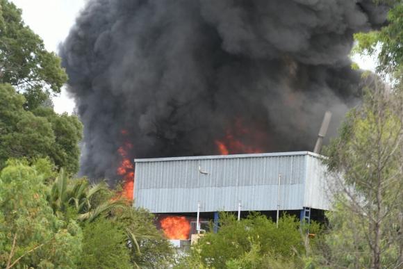 Trabajador desaparecido en el incendio estaba cerca de donde fue la explosión