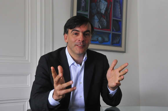 Loureiro. El ejecutivo dijo que la alianza abre a Quanam el mercado de nueve países de Centroamérica. (Foto: Francisco Flores)