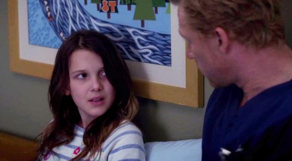 Millie Bobby Brown en Grey's Anatomy