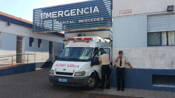 Hospital: el pequeño había sido intervenido por vegetaciones. Foto: Daniel Rojas