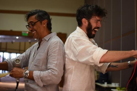 Diego Alfonso y Diego Impagliazzo, estilistas oficiales de TRESemmé de Uruguay y Argentina respectivamente