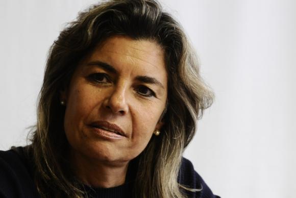 "El FA cree que Peña debe cumplir ""le guste o no a ella"". Foto. D. Borrelli"