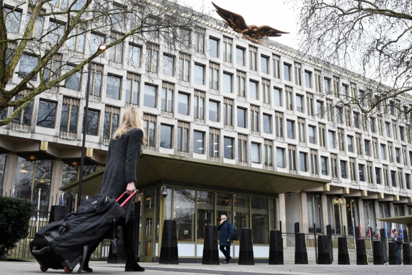 La nueva sede de Londres costó US$ 1.000 millones. Foto: AFP