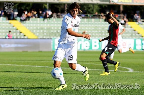 2017. Pablo Granoche marcó en total 14 goles en el año. Foto: SpeziaCalcioNews.com