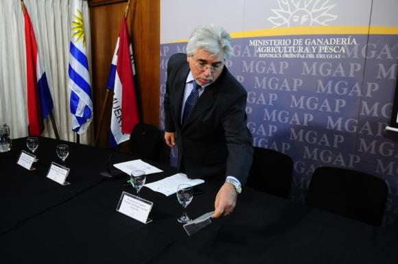 El 1° de marzo de 2010 dejó de ser productor arrocero para ocupar el Ministerio de Ganadería. Foto: M. Bonjour