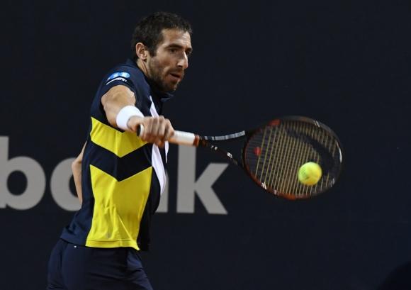 Ilusiones. Pablo Cuevas quiere pisar fuerte en Melbourne, en el primer Grand Slam del 2018. Foto: Ariel Colmegna