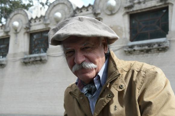 Juan Carlos López, conductor de Americando. Foto: Ariel Colmegna.