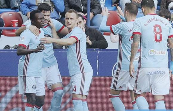 Celta de Vigo dejó atrás el golpazo que le dio el Barcelona
