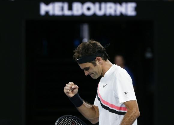 Roger Federer empezó con una victoria muy clara