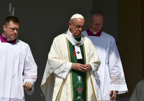Papa Francisco en Chile. Foto: AFP