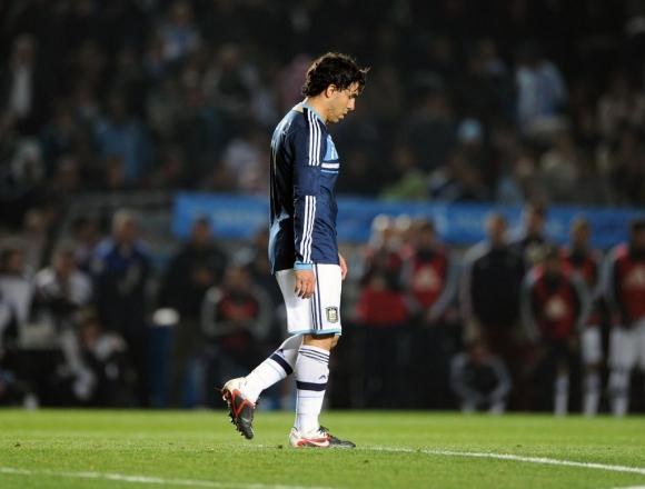 Tévez en la Copa América 2011. Foto: Archivo El País