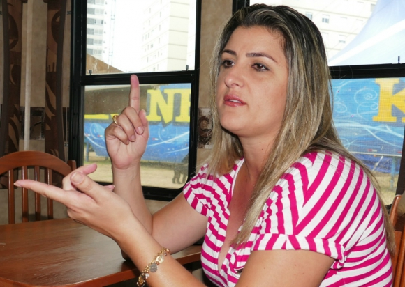 Evelyn Kroner. Foto: Ricardo Figueredo