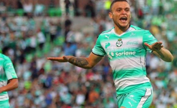 Otro gol de Jonathan Rodríguez para Santos Laguna