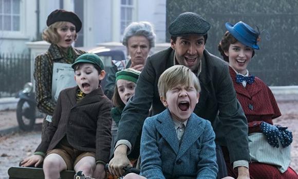 """Imagen promocional de """"El regreso de Mary Poppins"""""""